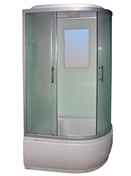 Душевая кабина Avanta 895/6 ЕС левая переднее стекло рифленое
