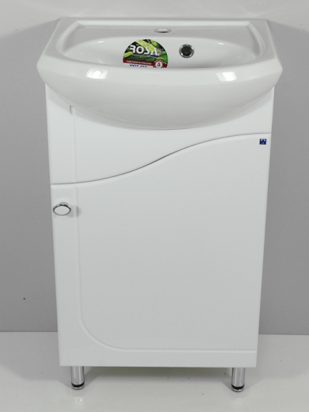 Тумба РС Уют-45 Волна Белая
