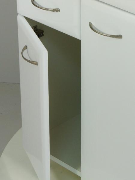 Тумба РС Уют-60/2 с ящиком Белая
