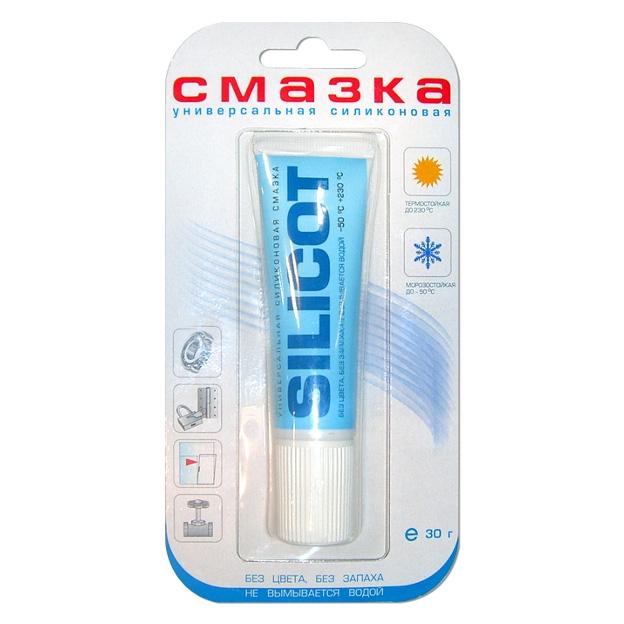 Смазка SILICOT 30 г универсальная силиконовая