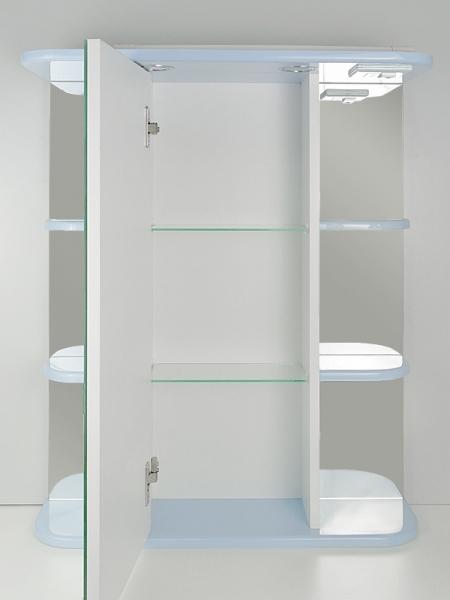 Зеркальный шкаф РС Вернисаж-СВ Голубой