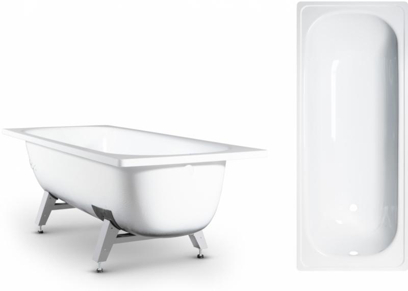 """Ванна эмаль """"ANTIKA"""" 1500*700  (ОАО """"ВИЗ"""") цвет белая орхидея"""