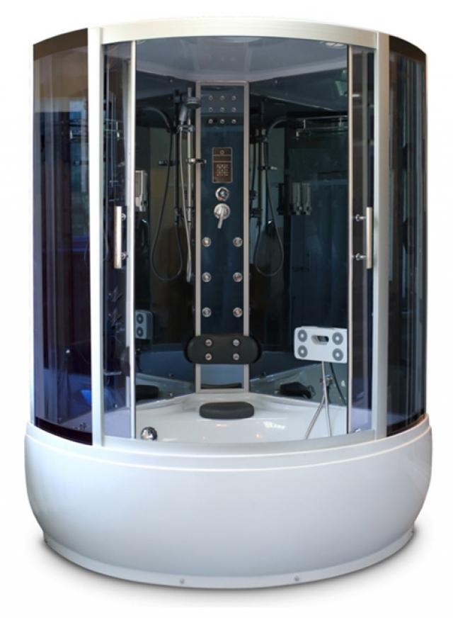 Кабина душевая ГидроМассаж Avanta T-919/5 серое стекло