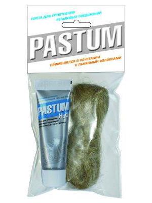 Набор монтажный Паста PASTUM H2O 25 г + лён 20 г (пакет)