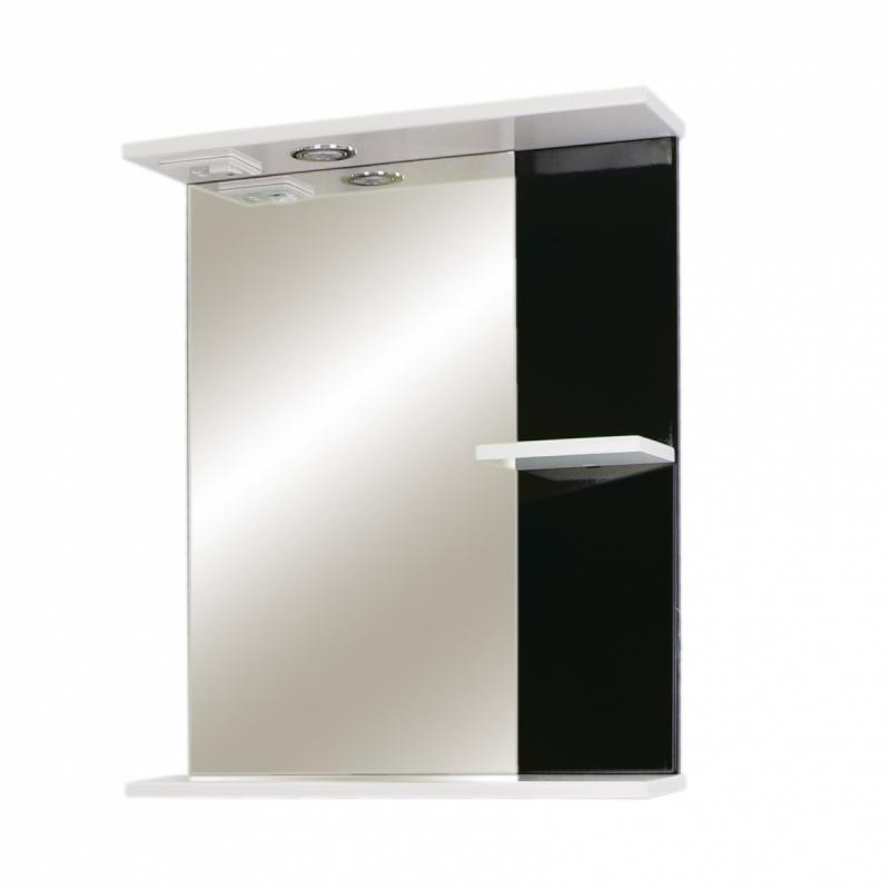 """Зеркало """"РС Фостер 60"""" бел.гл/черн.гл"""