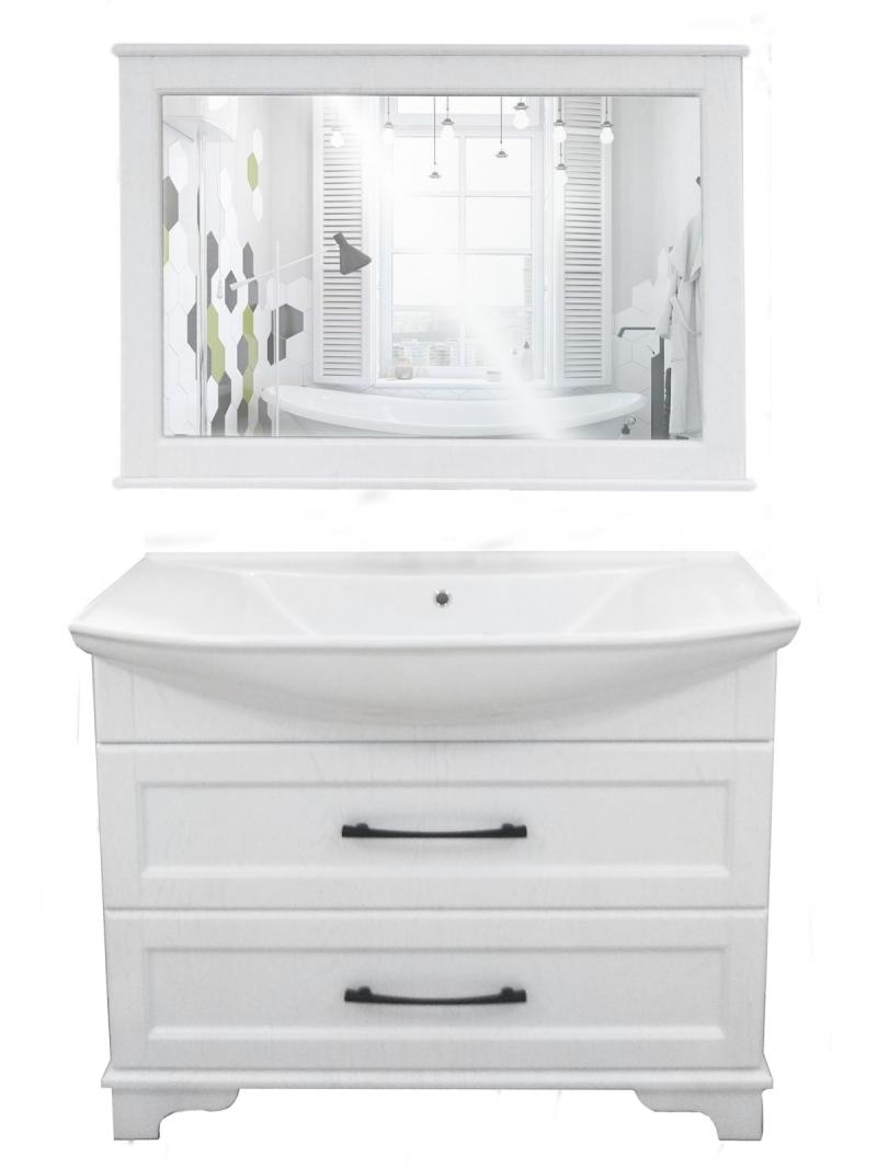 "Зеркало ""РС Стиль 1050"" бел."
