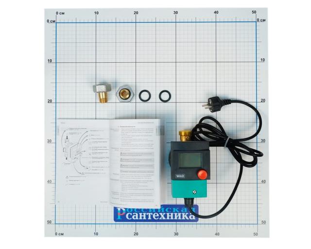 "Насос циркуляционный Wilo Star-Z-15-TT (таймер, контроль температуры) для ГВС, с гайками R1/2""xR1""MS"