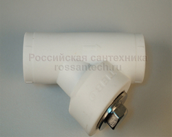 Фильтр D32 косой PP вн./вн.