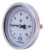 """Термометр БТ-31 Dy63 заднее подключение 1/2"""" 0-120`"""