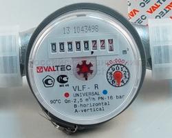 """Счетчик воды 1/2"""" универсальный """"ValTec"""" VLF-15U-110"""