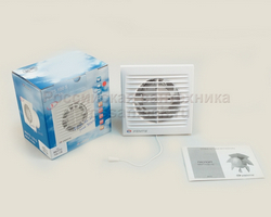 Вентилятор Вентс 100-СВ вытяжной, с выключателем