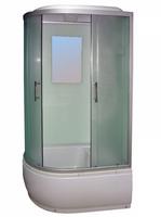 Душевая кабина Avanta 895/6 ЕС правая, переднее стекло рифленое