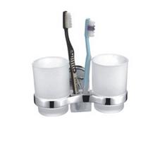 """Держатель зубных щеток с 2 стаканами """"FRAP"""" F-1908"""