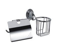 Держатель туалетной бумаги FRAP F1503-1 с корзинкой для освежителя
