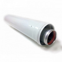 Дымоходная труба коаксиальная Baxi 1 м d60/100, арт.KHG714101710