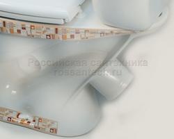 Компакт Воротынский комплект с сиденьем с ДЕКОРОМ белый