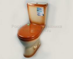 Компакт Ресса комплект с сиденьем цвет коричневый
