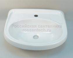 """Умывальник """"Фарфор Браво"""" белый (Лобня)"""