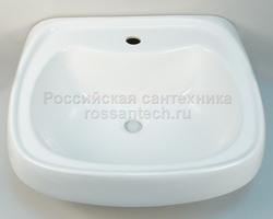 """Умывальник """"Фарфор Водолей"""" белый (Лобня)"""