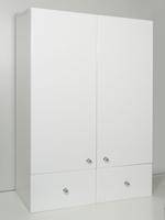 Шкаф подвесной Рс 60/1 с ящиком Белый