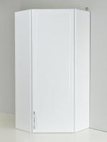 """Шкаф подвесной угловой """"РС. Правый"""" Белый"""
