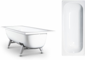 "Ванна эмаль ""ANTIKA"" 1600*700  (ОАО ""ВИЗ"") цвет белая орхидея арт.А-60901/60001"