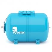 Бак гидроаккумулятор Wester WAO-50 горизонтальный