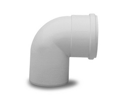 Дымоходный изгиб эмалированный Baxi d80 угол 90, арт.KHG714018010