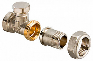 Клапан настроечный ValTec 1/2 прямой (арт.VT.020)