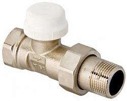 Клапан под термоголовку ValTec 1/2 прямой (арт.VT.032)