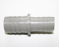 Переходник 19х22 для шланга пластмассовый