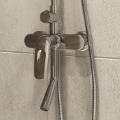 """Смеситель ванны IDDIS """"Male"""" с верхним душем MALSB3Fi06"""