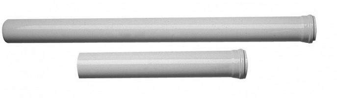 Дымоходная труба эмалированная Baxi 0,5 м d80, арт.KHG714018210