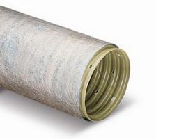 Труба дренажная d110 с обмоткой (геотекстиль)