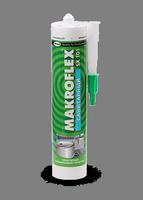 """Герметик """"MAKROFLEX SX101""""  силиконовый санитарный белый 290мл"""