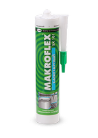 """Герметик """"MAKROFLEX SX101""""  силиконовый санитарный прозрачный 290мл"""