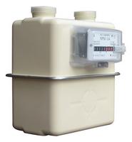 Счетчик газа NPM-G-4 с адаптером (лев./пр.)