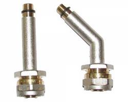 Комплект подключения смесителя м/п 16ц-10 нар. (пара)
