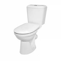 """Компакт """"Керамин Сити-Люкс Оливейра 3/6"""" белый, комплект с сиденьем"""