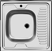 """Мойка """"Юкинокс"""" Стандарт STD600*600-4/5С- накладная, правое крыло (без акс.)"""