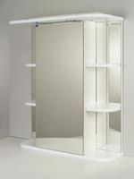 """Зеркальный шкаф """"РС Африка-60.СВ"""" Белый"""