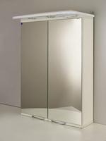 """Зеркальный шкаф """"РС Каприз-55.СВ"""" Белый"""