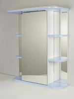 """Зеркальный шкаф """"РС Африка-60.СВ"""" Голубой"""