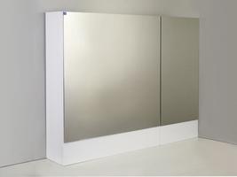 "Зеркальный шкаф ""РС Дания-85"" Белый"