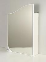 Зеркальный шкаф РС Волна-45 Белый