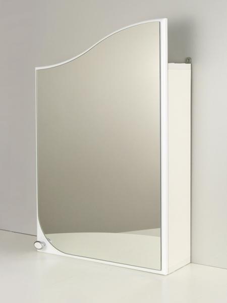 """Зеркальный шкаф """"РС Волна-45"""" Белый"""